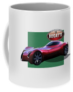 2025 Bugatti Aerolithe Concept With 3 D Badge  Coffee Mug