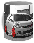 246062 Car Golf Gti Volkswagen Golf Vi Wheels Coffee Mug