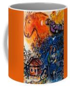 4dpictfdrew3 Marc Chagall Coffee Mug