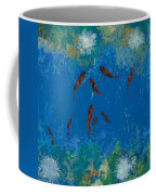 9 Pesciolini Rossi Coffee Mug by Guido Borelli