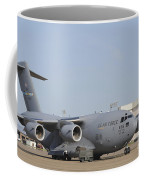 A C-17 Globemaster IIi Parked Coffee Mug by Stocktrek Images