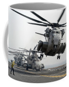 A Ch-53e Super Stallion Lifts Coffee Mug by Stocktrek Images