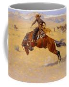 A Cold Morning On The Range Coffee Mug