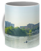 A Day On The River - Philadelphia Coffee Mug