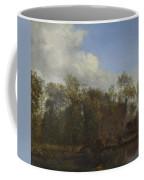 A Farm Among Trees Coffee Mug