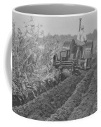 A Farmer Driving A Tractor Coffee Mug