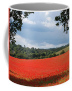 A Field Of Red Poppies Coffee Mug