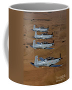 A Formation Of Iraqi Air Force T-6 Coffee Mug