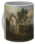 A Landscape With A Ruined Archway Coffee Mug