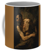 A Miser Study For Timon Of Athens Coffee Mug