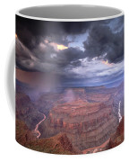 A Monsoon Storm In The Grand Canyon Coffee Mug by David Edwards