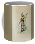 A Moorish Soldier Before A Sunlit Wall Coffee Mug