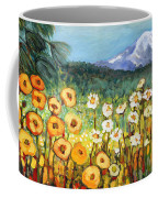 A Mountain View Coffee Mug by Jennifer Lommers