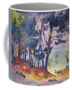 A Pine Grove Coffee Mug by Henri-Edmond Cross