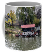 A Raft House Moored To The Shoreline Of Ada Medjica Islet Coffee Mug