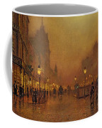 A Street At Night Coffee Mug
