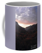 A Sunset View Through A Valley In The Southwest Foothills Of The Sierra Nevadas Coffee Mug
