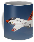 A T-45c Goshawk Training Aircraft Coffee Mug