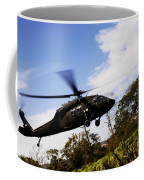 A U.s. Army Uh-60 Black Hawk Helicopter Coffee Mug