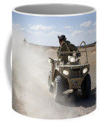 A U.s. Soldier Performs Off-road Coffee Mug
