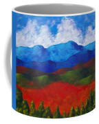 A View Of The Blue Mountains Of The Adirondacks Coffee Mug