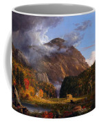 A View Of The Mountain Pass Called The Notch Of The White Mountains Coffee Mug