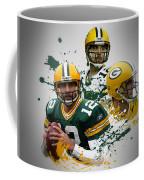 Aaron Rodgers Packers Coffee Mug