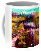 Aaw2- Evening At The Pond Coffee Mug