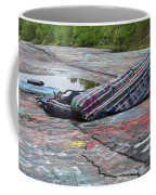 Abandoned Couch On The Graffiti Highway Coffee Mug