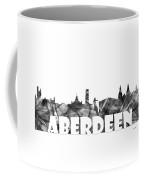 Aberdeen Scotland Skyline Coffee Mug