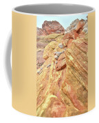 Above Wash 3 In Valley Of Fire Coffee Mug