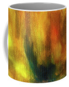 Abstract Background Structure With Oil Painting Texture In Tones Of Nature. Coffee Mug