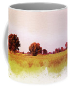Abstract Beautiful Tree And Landscape For Background. Coffee Mug