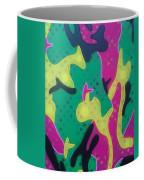 Abstract Camo Coffee Mug
