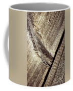 Abstract Detail Of A Wooden Old Board Coffee Mug