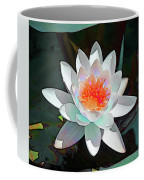 Abstract Waterlily Coffee Mug