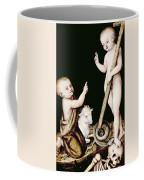 Adoration Of The Child Jesus By St John The Baptist Coffee Mug