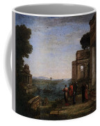 Aeneas Farewell To Dido In Carthago  Coffee Mug