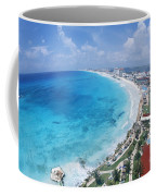 Aerial Of Cancun Coffee Mug