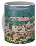 Aerial View Of The Beautiful University Of Colorado Boulder Coffee Mug