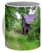 Aging Barn In Woods Series Coffee Mug