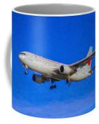 Air Canada Boeing 767 Art Coffee Mug
