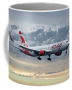 Air Canada Rouge Boeing 767-333 Coffee Mug