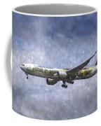 Air New Zealand Hobbit Boeing 777 Art Coffee Mug