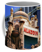 Aladdin Hotel Casino Coffee Mug