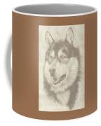 Alaskan Malamute And Pup Coffee Mug