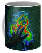 Alien Encounter Outside Looking In Coffee Mug