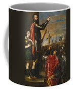 Allocution Of Marquis Del Vasto To His Troops Coffee Mug