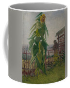 Allotment With Sunflower Paris, July 1887 Vincent Van Gogh 1853 - 1890 Coffee Mug