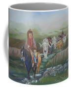 Along The Bozeman Trail Coffee Mug